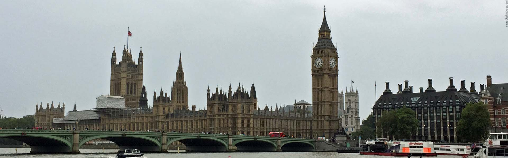 "Houses of Parliament. Featured photo for the page ""Home"" (Photograph from the website: Check Before You Trek)"