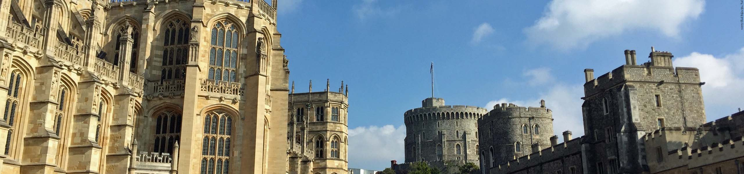 St George's Chapel and Round Tower - Windsor Castle - Windsor, England